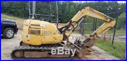 2004 John Deere 50C ZTS Hydraulic Mini Excavator Coming Soon