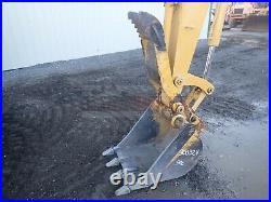 2004 John Deere 50c Zts Mini Excavator, Erops, Cab, 2 Speed, Hyd Thumb, 526 Hrs