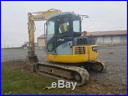 2004 Komatsu PC78US-6NO Hydraulic Midi Excavator Tracked Hoe Diesel Tractor Cab
