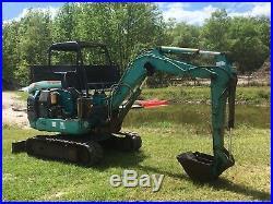 2004 Komatsu Pc27r-8 Trac Hoe Mini Excavator Back Hoe