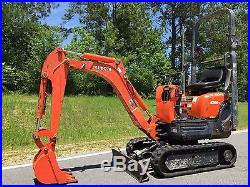 2004 Kubota K008-3 Hydraulic Mini Excavator Rubber Pads n Mississippi NO RESERVE