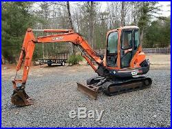 2004 Kubota KX121-3 Excavator 10,000 lb machine NEW ENGINE