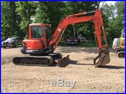 2004 Kubota KX161-3 Mini Excavator with Cab & Hydraulic Thumb. Coming Soon