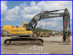 2004 Volvo EC330BLC Excavator Cab D12CECE2 Diesel 265 HP 22' Dig Depth bidadoo