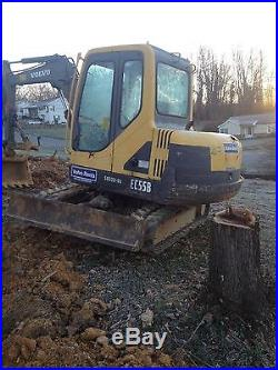 2004 Volvo EC55B Excavator