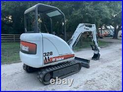 2005 Bobcat 328 Mini Excavator Low Hours Thumb Pre Emissions Kubota Diesel