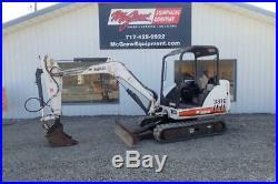 2005 Bobcat 331e Mini Excavator 1868 Hrs 40 HP Diesel Extenda-boom 3rd Valve