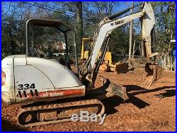 2005 Bobcat 334 Mini Excavator with Hydrolic Thumb