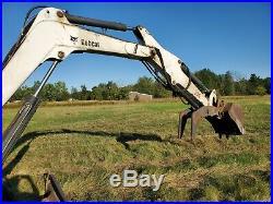 2005 Bobcat 341 Mini Excavator 3178 Hours Runs and Operates