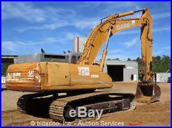 2005 Case CX330 Hydraulic Excavator Cab 271 HP Isuzu Diesel 54 Bucket bidadoo