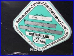 2005 Caterpillar 303CR Mini Excavator with Cab & Thumb