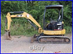 2005 Caterpillar 303CR Mini Hydraulic Excavator Aux. Hydraulics 10Trench bidadoo