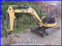 2005 Caterpillar 303CR Mini Hydraulic Excavator Aux Hydraulics 10 Bkt bidadoo