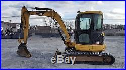 2005 Caterpillar 304CR Midi Excavator with Cab