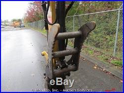 2005 Caterpillar 304CR Mini Excavator Hydraulic Thumb Backfill Blade Q/C AUX