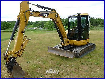 2005 Caterpillar 305 CR Mini Excavator Cat 1289 Hours