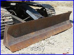 2005 Caterpillar 307CSB Hydraulic Excavator Swing Boom Cab Diesel Heat A/C Aux