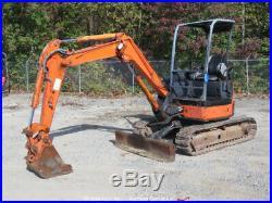 2005 Hitachi ZX30U-2 Hydraulic Mini Excavator Aux Hyd Dozer Blade bidadoo
