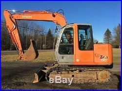 2005 Hitachi ZX80 Hydraulic Excavator with Aux. Hydraulics