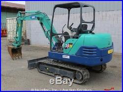 2005 IHI 35N-2 Mini Excavator Rubber Track Backhoe Compact Radius bidadoo