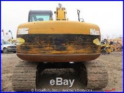 2005 JCB JS130 Hydraulic Excavator A/C Cab AUX Isuzu 24 Bucket bidadoo