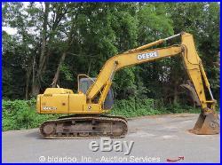 2005 John Deere 160C LC Hydraulic Excavator Cab Heat A/C 24 Tracks bidadoo