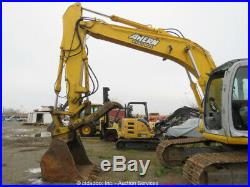 2005 Kobelco SK160LC Excavator Heat Cab A/C Hydraulic Thumb Mitsubishi Repair