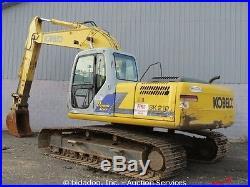 2005 Kobelco SK210LC Hydraulic Excavator A/C Cab 24 Bucket Crawler bidadoo