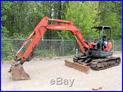 2005 Kubota KX161-3 Mini Excavator Dozer Blade Backhoe 24 Bucket Thumb Diesel