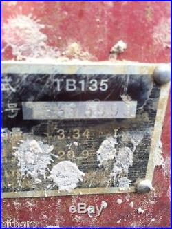 2005 TAKEUCHI TB135 COMPACT MINI EXCAVATOR YANMAR DIESEL BOBCAT KUBOTA