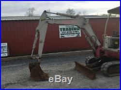 2005 Takeuchi TB125 Hydraulic Mini Excavator