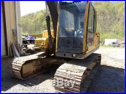 2005 Volvo EC140B LC Hydraulic Excavator With Hydraulic Thumb