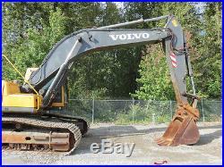 2005 Volvo EC290BLC Hydraulic Excavator A/C Cab Hyd Q/C Auxiliary Hydraulics