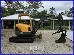 2005 Volvo ECR38 Mini Excavator Rubber Tracks