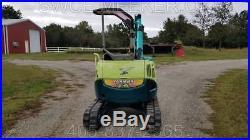 2005 Yanmar B2-5 Mini Excavator Trackhoe Backhoe Dozer 2479 Hours