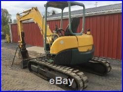 2005 Yanmar VIO50-3 Hydraulic Mini Excavator NEEDS HYDRAULIC WORK