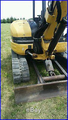 2005 caterpillar 305cr mini excavator cat bobcat skidsteer skid loader