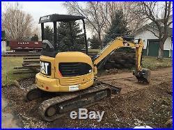 2006 303CCR Caterpillar Mini Hydraulic Excavator with backfill Blade