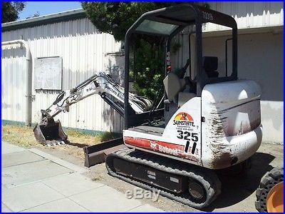 2006 Bobcat 325-G Mini Excavator 1600 h