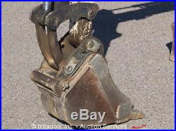 2006 Bobcat 331G Hydraulic Mini Excavator Backfill Dozer Blade AUX Kubota