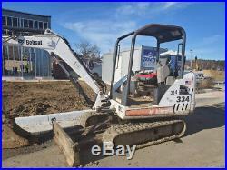 2006 Bobcat 334G Hydraulic Mini Excavator with Kubota Diesel Engine