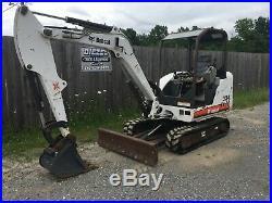 2006 Bobcat 334G Mini Excavator, OROPS, Backfill Blade, XChange Cplr, 2,552 hrs