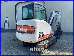 2006 Bobcat 334 Mini Excavator, Erops, Hyd Thumb, Heat & Ac, 40 HP Pre-emissions