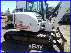 2006 Bobcat 442 Midi Excavator HYDRAULIC THUMB! Aux. Hyd. Deutz Mini