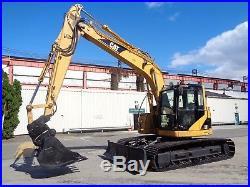 2006 CATERPILLAR 314C LCR Hydraulic Crawler Excavator Dozer Blade Low Hours