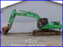 2006 Case CX210 Hydraulic Excavator Enclosed Cab A/C Isuzu Diesel 48 Bucket