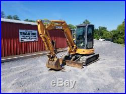 2006 Case CX50B Hydraulic Mini Excavator with Cab & Hydraulic Thumb