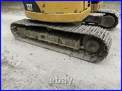 2006 Cat 308C CR ENCLOSED Cab Mini Mid Size Excavator Pre Emissions 17K