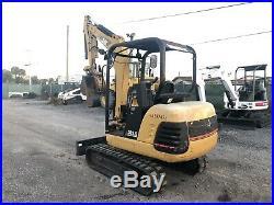 2006 Caterpillar 302.5 Mini Excavator Open Cab Hydraulic Thumb Ex County
