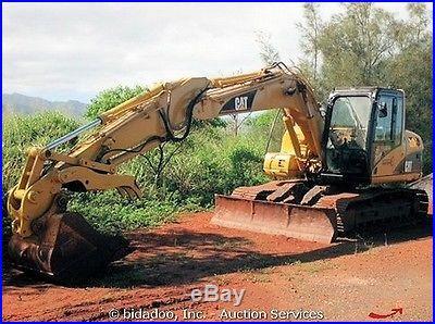 2006 Caterpillar 312C Hydraulic Excavator w/ Thumb 98 Blade 94HP CAB A/C CAT